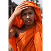 Angkor Wat Monk (minus6 (tuan)) Tags: minus6 d810 85mm angkorwat siemreap cambodia
