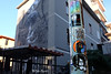 "Roma. TorPignattara. Sticker art by Bloodpurple, C_ska, Lus57, me, Magaratz close to the Nicola Verlato masterpiece ""Hostia"" (R come Rit@) Tags: italia italy roma rome ritarestifo photography streetphotography urbanexploration exploration urbex streetart arte art arteurbana streetartphotography urbanart urban wall walls wallart graffiti graff graffitiart muro muri artwork streetartroma streetartrome romestreetart romastreetart graffitiroma graffitirome romegraffiti romeurbanart urbanartroma streetartitaly italystreetart contemporaryart artecontemporanea artedistrada underground torpignattara bloodpurple cska lus57 me magaratz nicolaverlato masterpiece hostia sticker stickers stickerart stickerbomb stickervandal slapart label labels adesivi slaps signscommunication roadsign segnalistradali signposts trafficsignals"