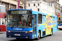 20338 R338 HFS (Cumberland Patriot) Tags: stagecoach fife scottish omnibus princes street edinburgh midlothian scotland volvo b10m b10m55 alexander ps 338 20338 r338hfs step entrance bus coach derv diesel engine road vehicle public transport 55 express