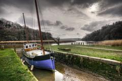 Cotehele Quay, River Tamar, Cornwall (Baz Richardson (now away until 21 June)) Tags: cornwall rivertamar cotehelequay nationaltrust smallboats rivers quays