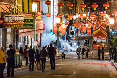 The other side of Chinese New Year Parade 2018 #5 (satoshikom) Tags: canoneos6dmarkii canonef24105mmf4lisusm chinesenewyearparade2018 chinatown sanfrancisco grantavenue downtown fireworks weekend chinesenewyear