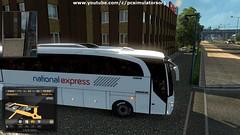 ETS2 - National Express Coach8 (pcsimulators.org) Tags: national express coach skin ets2 euro truck simulator 2 skins simulation games pc