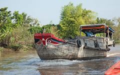 IMG_6427 (briancarrollphotos) Tags: vietnam boattraffic mekongdelta cargoboat riverboat mekongriver