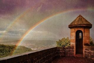 View From Wartburg Castle Drawbridge