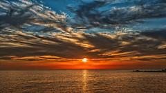 Land's End (Jörg Bergmann (off)) Tags: islascanarias lagomera landsend puestadesol vallegranrey atardecer canarias clouds españa gm1 gomera lumix sky spain sun sunset vacation panasonic20mmf17 wallpaper 20mmf17 20mm