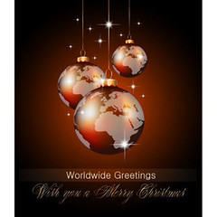 Christmas Globe world wide greeting card Vector (cgvector) Tags: abstract background bauble bright celebration christmas decor decoration earth festive frame gift globe gold golden greeting happy holiday illustration light map ornament present ribbon season shine star text traditional vector vintage wallpaper white winter world worldwide xmas year