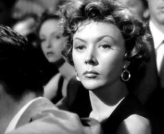 "Gloria Grahame in ""The Big Heat"" (1953). (stalnakerjack) Tags: film hollywood actresses filmnoir fritzlang thebigheat gloriagrahame"