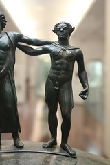 """300 BC """"ficoroni"""" cremations casket from Palestrina - Rome Spring 2018 National Etruscan Museum at the Villa Julia. (Kevin J. Norman) Tags: italy rome etruscan villa julia giulia etrusca juliusiii ficoroni palestrina dionysus hercules"""