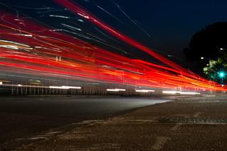 Une voiture, à la vitesse de la lumière