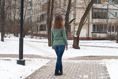 timanfaya (_vasilka_) Tags: handmade knit knitting test pullover sweater woman winter wool green round yoke