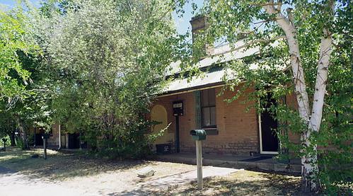 terrace house in Grafton Street, NSW, Australia