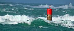 Marco BP (41) (marcbihanpoudec) Tags: tempête balise brividic vagues porspoder bretagne