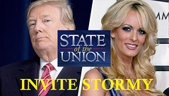 Invite Stormy Daniels to the State of the Union Address (Mike Licht, NotionsCapital.com) Tags: stormydaniels trump donaldtrump sotu stateoftheunionaddress gop republicans satire scandal adultery adultfilms pornstars