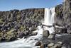 Oxararfoss (Islandia) (U2iano) Tags: oxarar oxararfoss thingvellir pingvellir catarata cascada waterfall