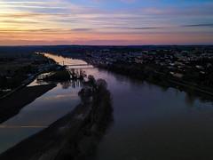 Drone d'idée (Meculda) Tags: garonne aquitaine bordeaux drone mavic pro extérieur france aérien laréole fleuve inondation hiver 2018