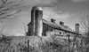 Dairy Barn, Creamery, WV (Bob G. Bell) Tags: barn dairy dairybarn farm fence sky bw xpro1 fujifilm wv westvirginia creamery summers monroe pencesprings bobbell