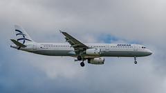 SX-DVP  Airbus A321-200 - Aegean Airlines (Peter Beljaards) Tags: aviationphotography jetliner passengerjet schiphol amsterdam sxdvp airbusa321 aegeanairlines nikond5500 ams eham a321