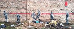 Urban decay (ihughes22) Tags: dotmaster graffiti ihughes22 rudekids liverpool banksy tags spraycan artwork art urban decay kids decals stencil stencils