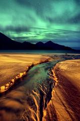 Aurora Borealis (tothfrantisek) Tags: auroraborealis northernlights norway landscape nightscape seascape mountain nature