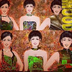 My old painting coercion  Digital painting art by nodasanta  以前にお絵描きした作品を、編集加工してアップしてます。 (nodasanta) Tags: instagramapp square squareformat iphoneography uploaded:by=instagram hudson