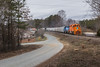 Georgia Countryside (WillJordanPhoto) Tags: trains eje hartwell railroad hrt toccoa lavonia bowersville gravel country road southern norfolksouthern