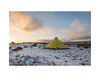 Tipi (danjh75) Tags: tipi peakdistrict sunset tents snow landscape camping colour sky nikon ngc sierradesigns tarp winter ice yellow shelter wether