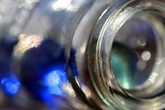 Blue marbles (cheryl.rose83) Tags: bottle marbles blue macromondays inabottle macro