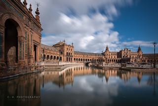 Plaza Reflection - Seville, Spain