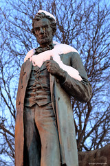Abraham Lincoln (dpsager) Tags: abrahamlincoln chicago dpsagerphotography lakemichigan lakefront northavenue winter