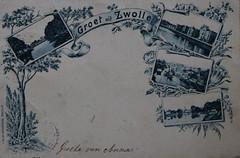 Zwolle (Steenvoorde Leen - 6 ml views) Tags: ansichtkaart briefkaart card postcard kart postkarte cardar postal tarjeta carta korespodenzkarte correspodenzkarte brefort cartolina listek korespodencni old postcards geschiedenis historrie history holland netherlands zwolle
