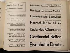 Halbfette Hamburger Grotesk, Genzsch & Heyse (bogtrykkeren) Tags: hamburger grotesk genzsch heyse fr bauer grot letterpress type schrift bogtryk buchdruck bogtrykkeren