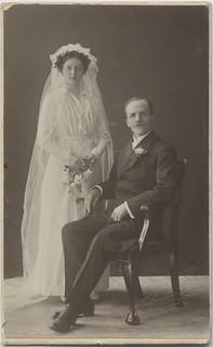 Alfhild og Theodor Sandvik (1915)