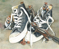 Chipmonks and Tennis Shoes (GayleMaurer006) Tags: