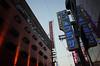 """Namba Plaza"" (Eric Flexyourhead) Tags: sennichimae 千日前 chuo chuoku 中央区 osaka osakashi 大阪市 kansai 関西地方 japan 日本 nambaplaza nambaplazahotel ナンバプラザホテル city urban cityscape night evening twilight bluehour sky clear blue bluesky blueskies neon signs lights ricohgr"