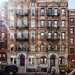 Physical Graffiti NYC (Darren LoPrinzi) Tags: 5d canon5d manhattan ny nyc newyork newyorkcity urban canon city miii village eastvillage greenwichvillage ledzeppelin physicalgraffiti albumcover album cover rock rockroll classicrock square squareformat fireescape classic old brownstone zeppelin ledzep windows architectural