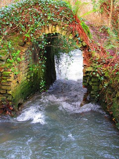 Flooded Old Mill Arch 001 26-01-2018