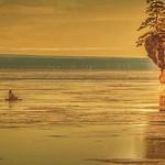 Kayakers at Hopewell Rocks January 27th, 2018 thumbnail