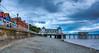 Penarth Pier Pavilion. (http://www.grazynabudzenphotography.co.uk/) Tags: penarth pier pavilion landscape landscapeseascape beauty beach sky south southwales seascape sun wales water walk nikon ngc grazynaphotography blue cloudy