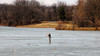 Fishing?  (Explored) (Millie Cruz *Catching up slowly!) Tags: fisherman frozen lake water man trees geese nature outdoors stoeversdampark lebanonpa winter candid canonef24105
