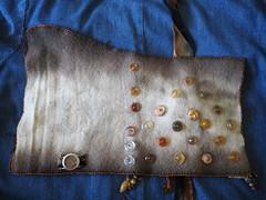 Ecodye fabric book (feyfae) Tags: 2018 fabric books art embroidery