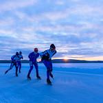 Finland Ice Marathon in the morning thumbnail