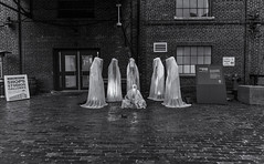 Guardians of time (John G Briggs) Tags: toronto distillery district light fest festival sculptures public art
