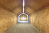 Licht am Ende des Tunnels (Elbmaedchen) Tags: tunnel tube gleis17 gedenkstätte berlin durchgang durchblick bahnhof grunewald sbahn licht light