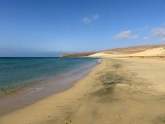 La spiaggia di Sotavento – Sotavento Playa (Bluesky71) Tags: fuerteventura spagna spain canarie canaryislands spiaggia beach sotavento sabbia sand riscoelpaso mare oceano ocean sea