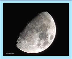Foto und Text Jürgen Knapp Bearbeitung Magrit Knapp (magritknapp) Tags: mond moon lune luna lua maan månen księżyc photopedia flickrpedia