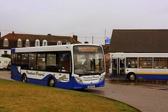 Panther Travel at Harwich (Chris Baines) Tags: panther travel harwich alexander dennis enviro 200 dc61 pan dart plaxton pointer big 7006