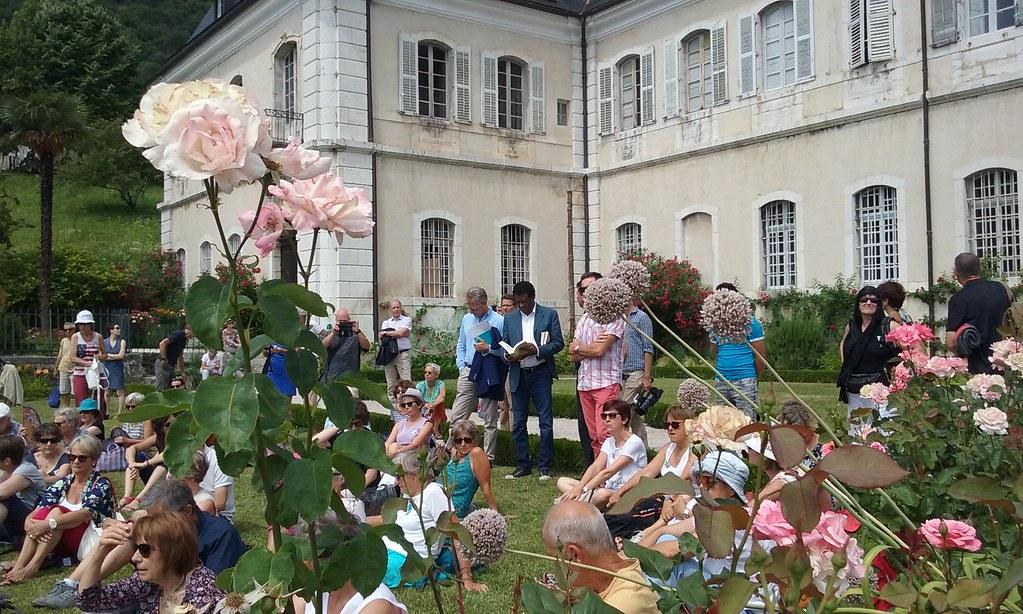Les Rencontres littéraires en Savoie Mont Blanc Vous viendrez pour les auteurs, vous reviendrez pour le spectacle de la nature. Et inversement.