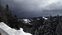 New Snow Coming (Daphne-8) Tags: sky himmel dark light sun sonne licht dunkel schnee snow neve nieve neige sneeuw donker cielo hemel lucht weather wetter alps alpi alpes alpen view hörnli vista landscape landschaft landschap paesaggio paisaje paysage mountains berge montañas montagnes switzerland suisse svizzera zwitserland schweiz svizra suiza suiça mountain