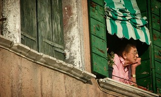 The windows of Venezia....
