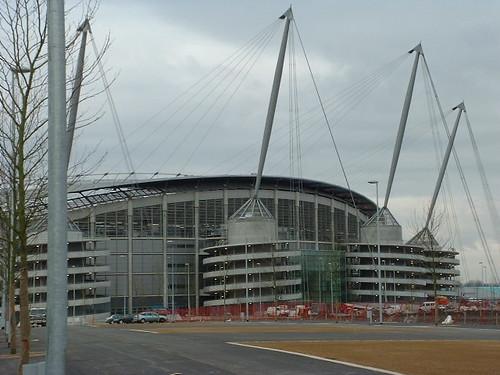 City of Manchester stadium. The Etihad Stadium.